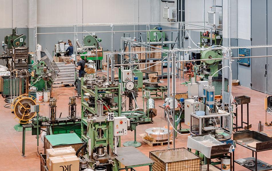 Produzione macchinari rete metalliche