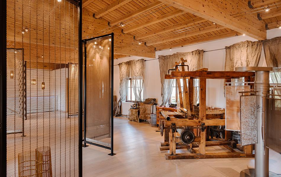 showroom tele metalliche per arredo e architettura