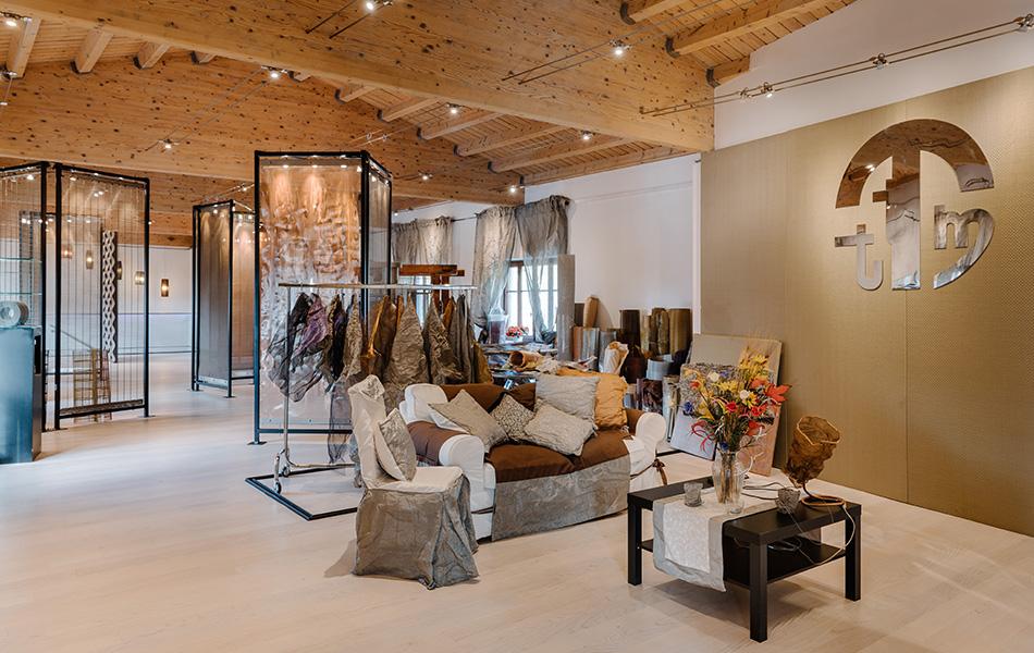 Showroom Rete e Tele Metalliche per l'Architettura